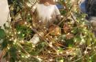Beleuchteter Adventswichtel
