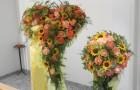 Dekoration für Kirche und Trauerfeier