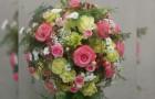 Blumenkugel rosa